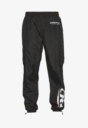 UTILITY TROUSERS - Pantaloni cargo - black/white