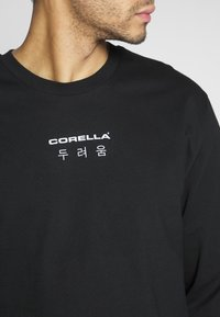CORELLA - JAPENSE WRITING - Longsleeve - black - 3