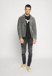 CORELLA - CORELLA DOVE - Långärmad tröja - black - 1