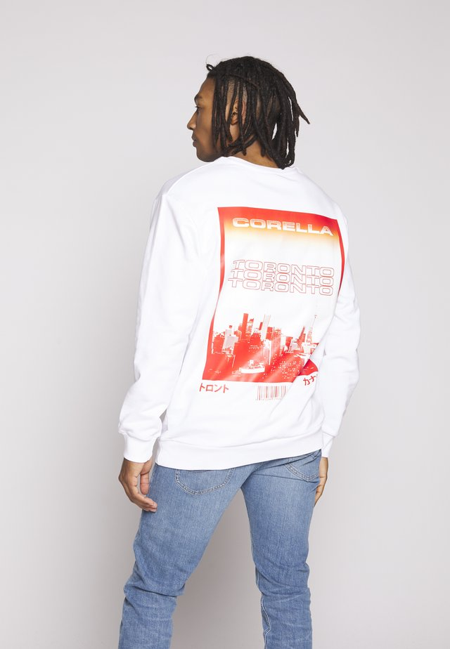 TORONTO GLOBAL - Sweatshirt - white