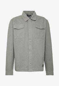 CORELLA - JACKET - Denim jacket - grey - 4