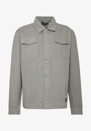 JACKET - Jeansjacka - grey