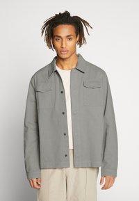 CORELLA - JACKET - Denim jacket - grey - 2