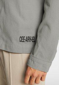 CORELLA - JACKET - Denim jacket - grey - 5