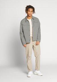 CORELLA - JACKET - Denim jacket - grey - 1