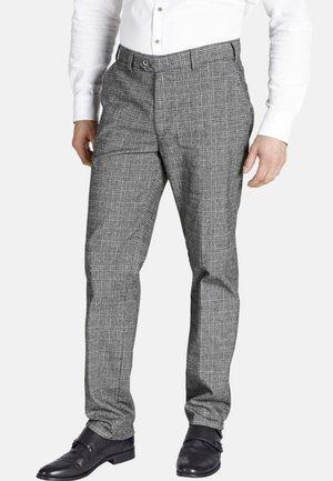 DUKE GILBERT - Suit trousers - grey
