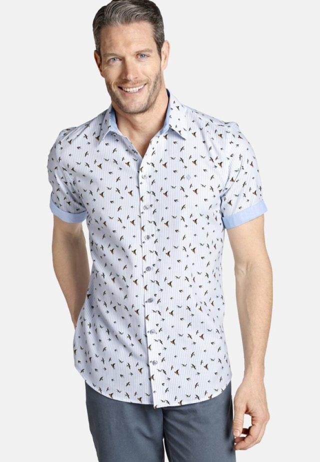 OBERON - Overhemd - white/light blue
