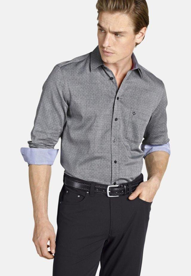 EARL GEORGE - Overhemd - gray patterned