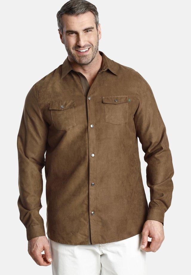 DUKE ETHAN - Shirt - brown