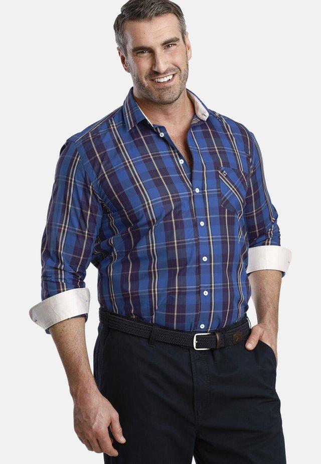 DUKE IEFAN - Shirt - blue