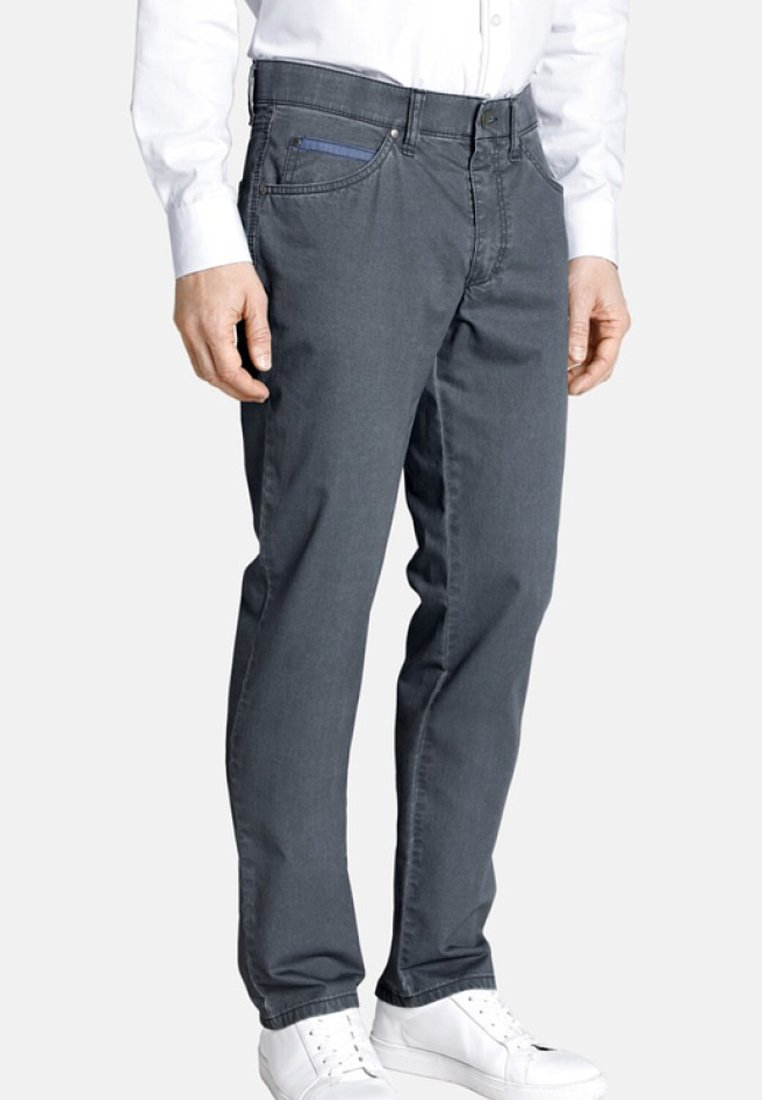 Charles Colby - Jeans Straight Leg - gray