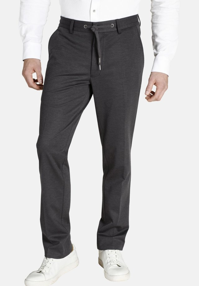 DUKE BERNARD - Pantalon classique - grey