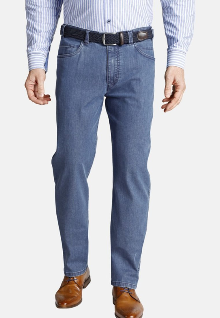 Charles Colby - ANDRED - Jeans Straight Leg - blue