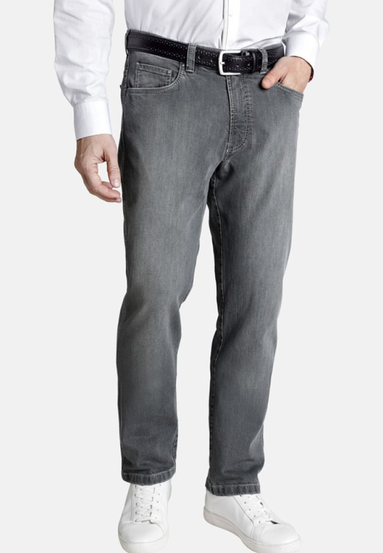 Charles Colby - ACCOLON - Jeans Straight Leg - grey