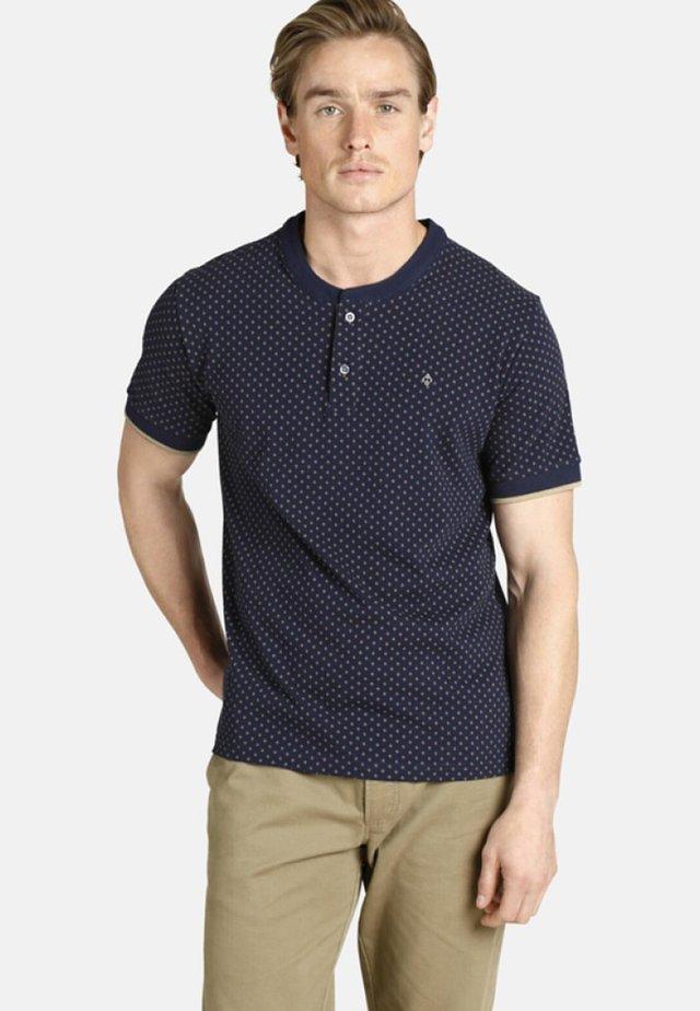 DUKE COLIN - T-shirt imprimé - blue/beige