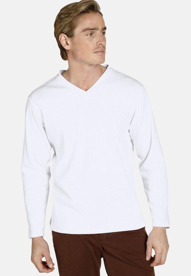 EARL CILLIAN - T-shirt à manches longues - white