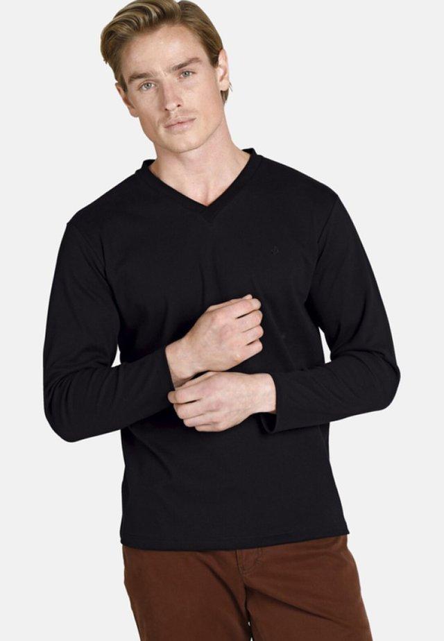 EARL CILLIAN - T-shirt à manches longues - black