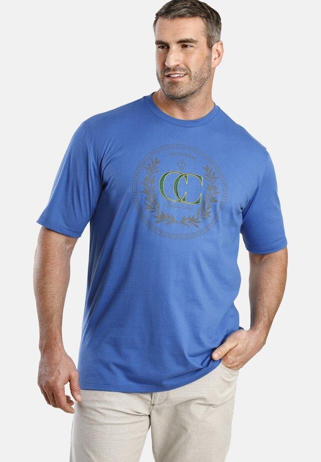 CRAIG - T-shirt imprimé - blue
