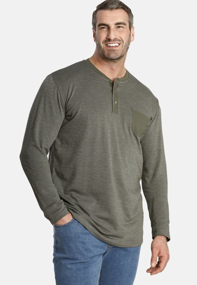 MARCUS - Long sleeved top - olive