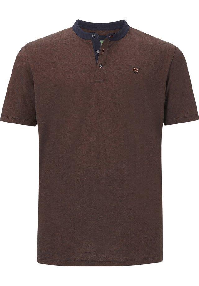 EARL DEREK - Basic T-shirt - orange melange