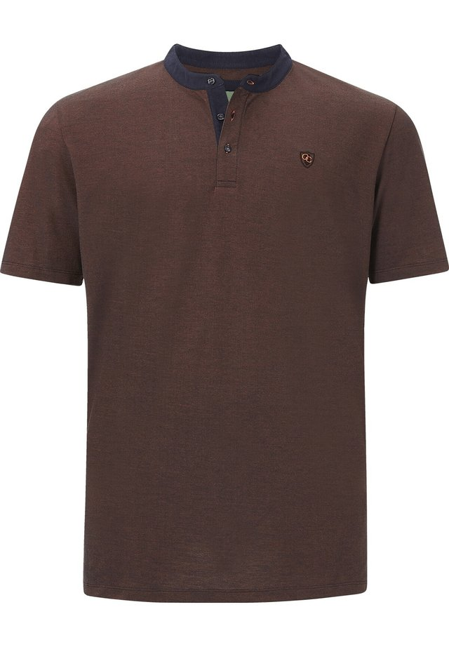 EARL DEREK - T-shirt basique - orange melange