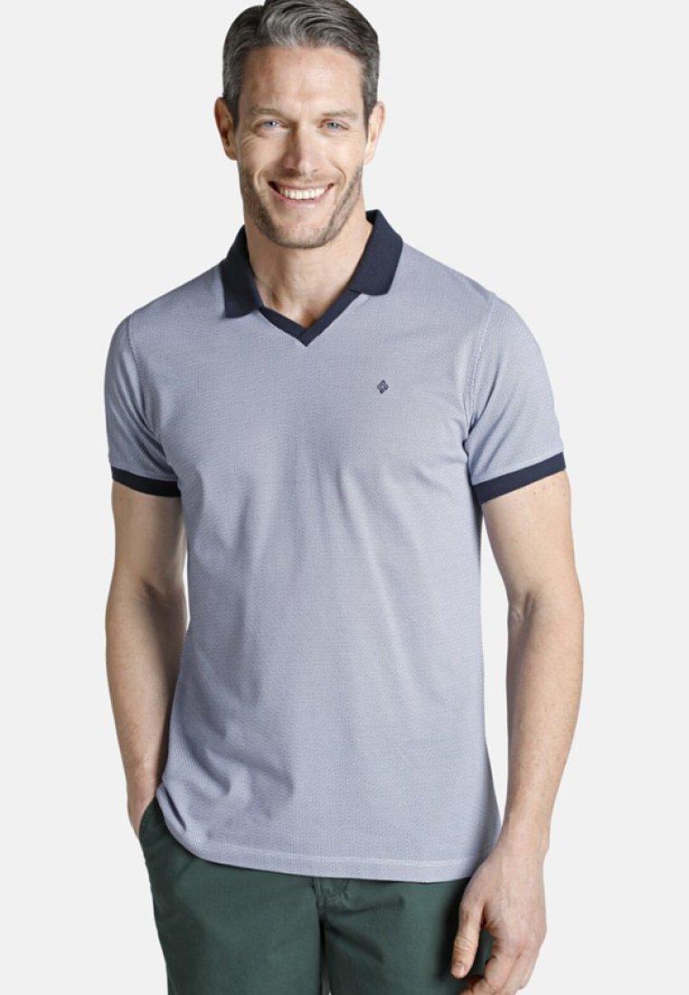 Charles Colby - HOLDEGER - Poloshirt - blue/white