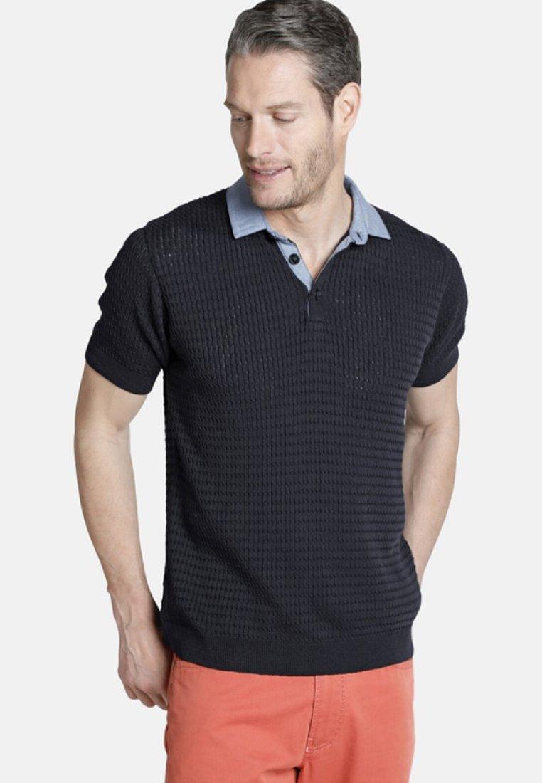 Charles Colby - RUSSEL - Poloshirt - dark blue