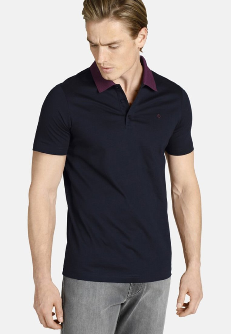 Charles Colby - EARL GILES - Poloshirt - dark blue