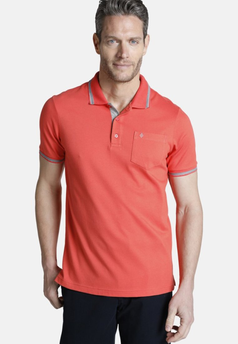 Charles Colby - RHYS - Poloshirt - red