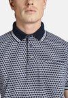 Charles Colby - DUKE TREVOR - Poloshirt - blue/white