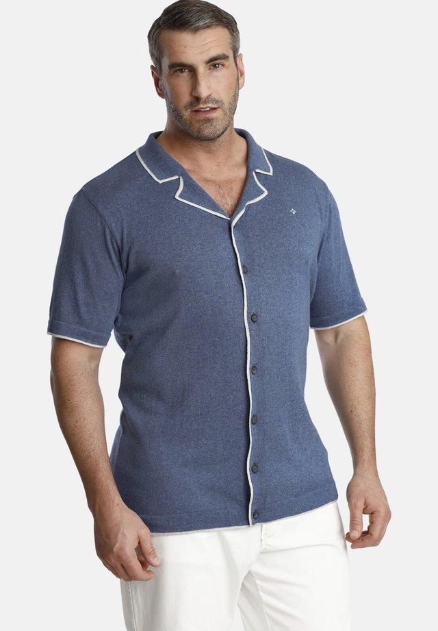 EARL STEVE - Shirt - blue