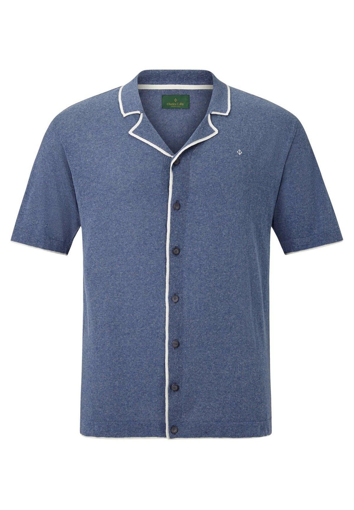 Charles Colby Earl Steve - Overhemd Blue Rr1Jcnq