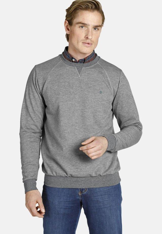 EARL LINAS - Sweater - grey melange