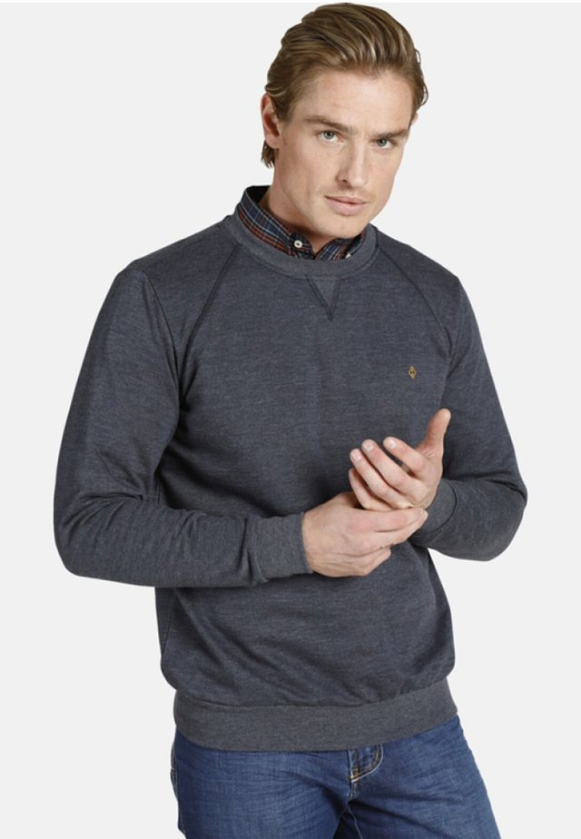 EARL LINAS - Sweater - blue melange