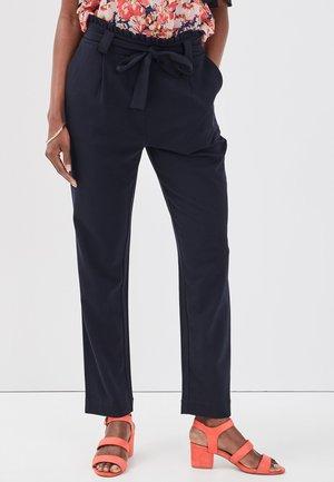 PAPERBAG - Pantalones - navy blue