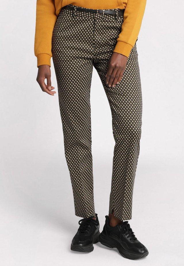7/8 BUNDHOSE - Pantalon classique - black