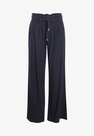 Pantalon classique - bleu marine