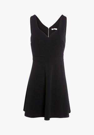 MIT HERZAUSSCHNITT - Robe d'été - black