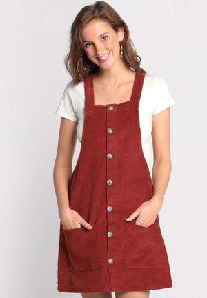 Vestido informal - dark red