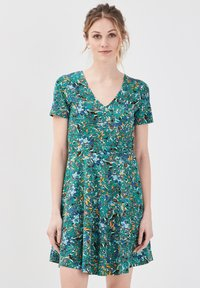 Cache Cache - SKATER - Vestido informal - vert - 0