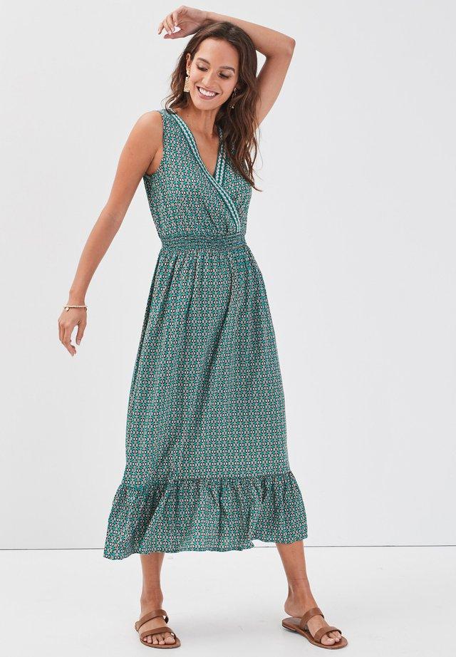 Vestido informal - vert émeraude