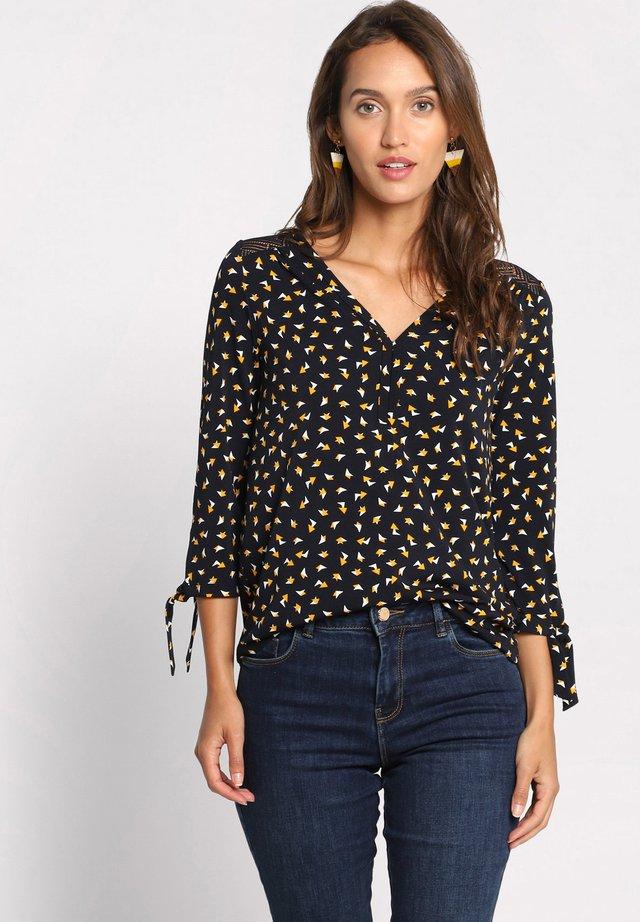 T-shirt à manches longues - jaune