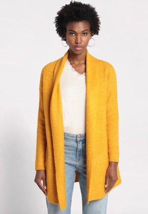 MIT TASCHEN - Vest - jaune moutarde