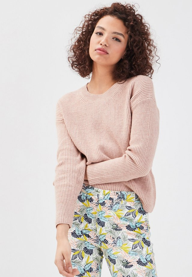 Jersey de punto - rose clair
