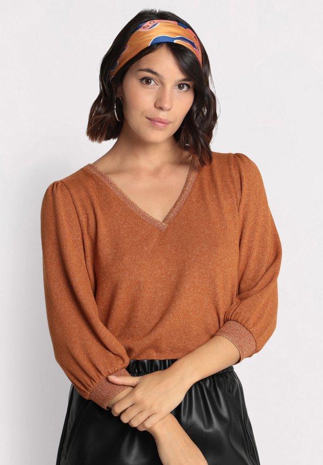 T-shirt à manches longues - marron
