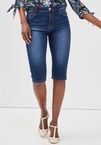Cache Cache - Shorts di jeans - stone blue denim - 3