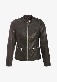 Cache Cache - MIT REISSVERSCHLUSS - Faux leather jacket - black - 4