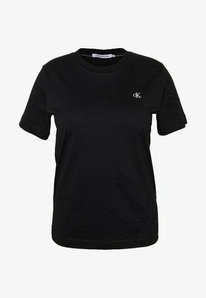 EMBROIDERY TEE - Basic T-shirt - ck black