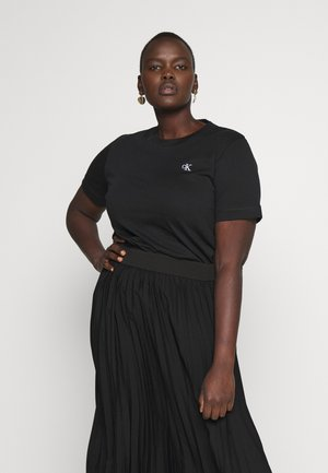 EMBROIDERY TEE - Basic T-shirt - ck black
