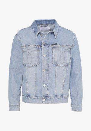 OMEGA TRUCKER - Spijkerjas - light blue